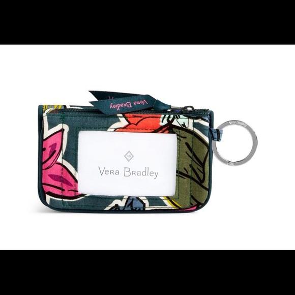 Vera Bradley Accessories - Vera Bradley ID Zip Case w/ Lanyard